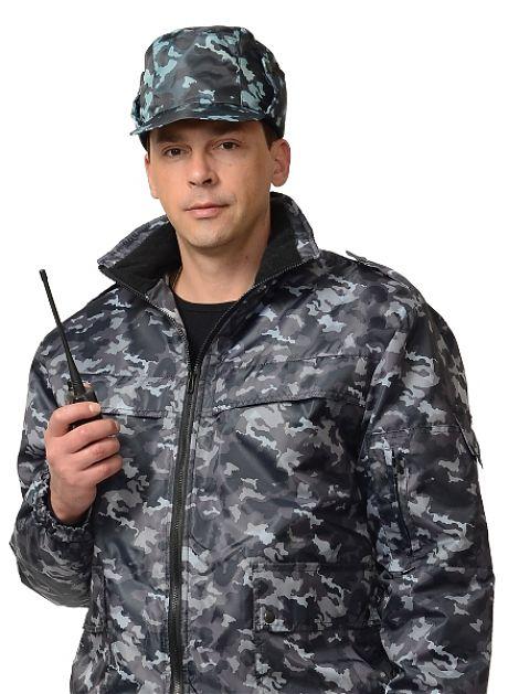 Кепи охранника утеплённое КМФ ЦЕНА: 300.00