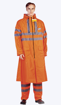 Плащ «Дорожник» с СОП оранжевый, лимонный ЦЕНА: 1170.00