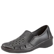 Туфли женские кожаные с перфорацией  (подошва ПУ) ЦЕНА: 1630.00