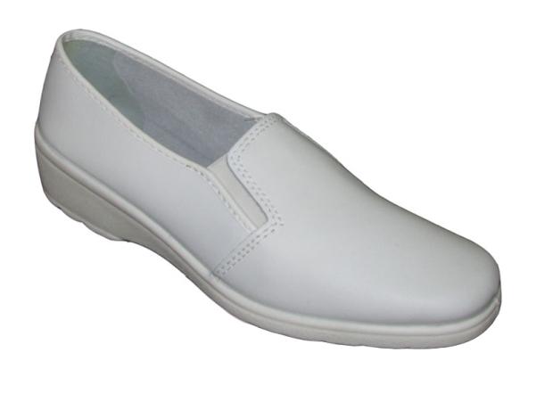 Туфли женские кожаные (подошва ПУ)