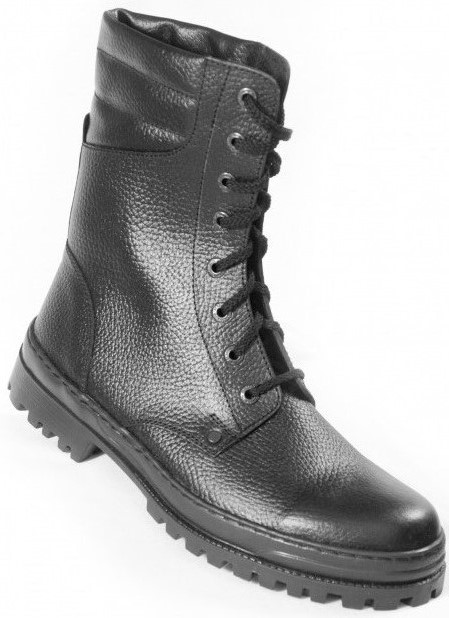 Ботинки кожаные высокий берц «Омон» ЦЕНА: 2290.00