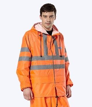 Куртка «Дорожник» с СОП оранжевый, лимонный ЦЕНА: 610.00