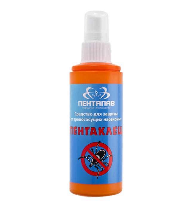 Средство для защиты от клещей и комаров «Пентапав» 100 мл Цена 169,00