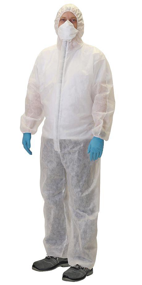 Комбинезон защитный полипропиленовый спанбонд ЦЕНА: 250.00